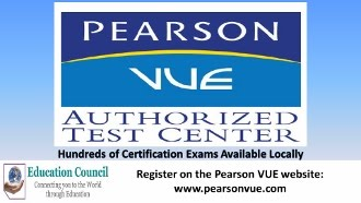 PCEC Pearson VUE Test Center