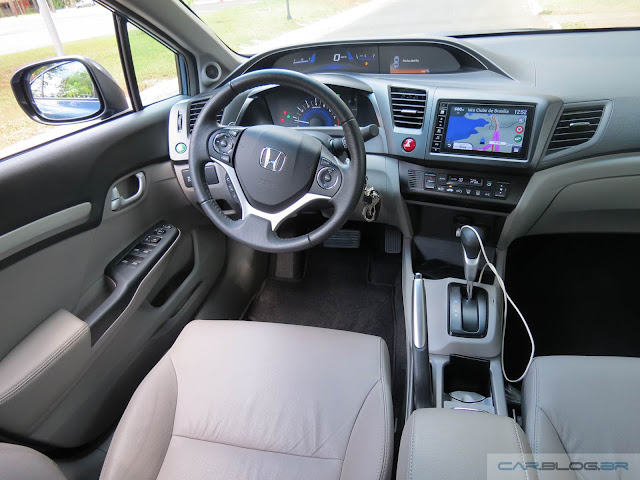 Novo Honda Civic EXR 2016 - interior