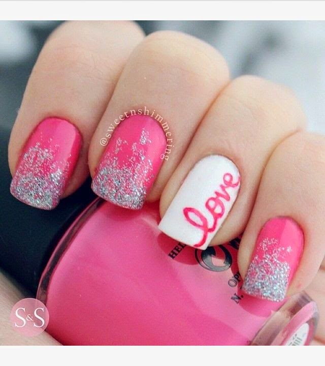 Valentines Day Nail Art Ideas Designs For Girls 2017
