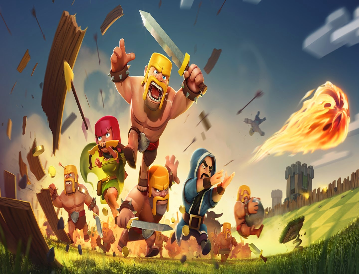hack clash of clans no survey no password