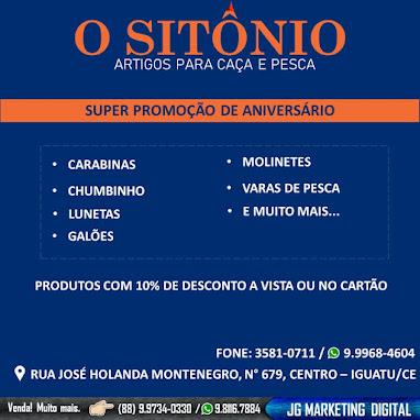 Ô SITONIO - 60 ANOS DE TRADIÇÃO  (88) 9.9968.4604