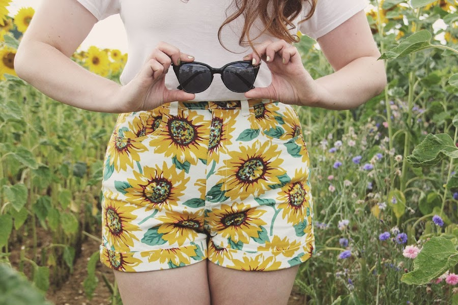 it's cohen - uk style blog: writtle sunflowers