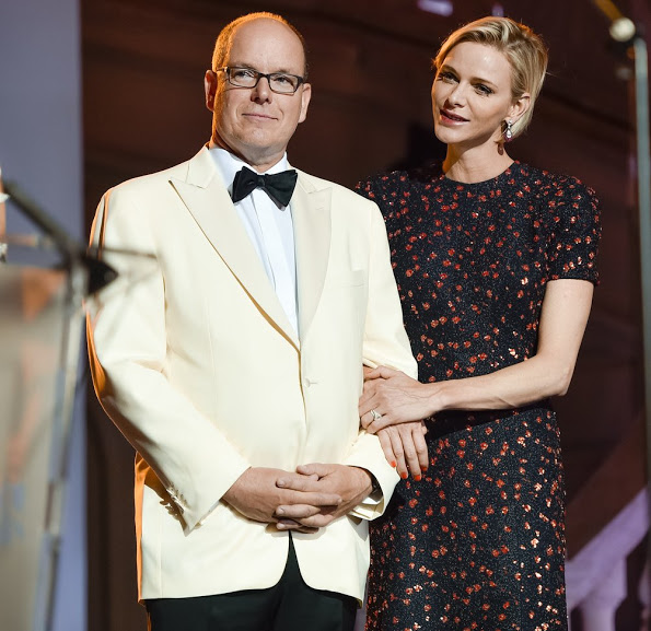 Princess Charlene Attends The 2015 Princess Grace Awards Gala