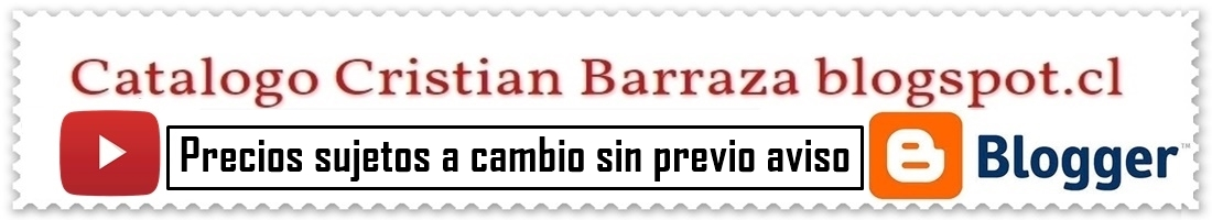 Catalogo Cristian Barraza blogspot.cl
