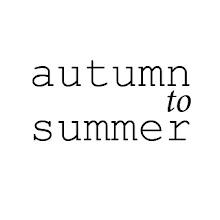 autumn to summer