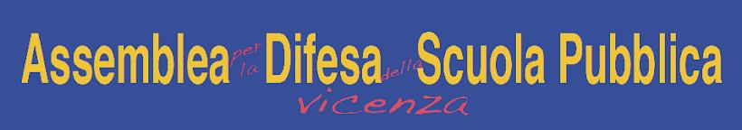 Assemblea per la difesa della Scuola Pubblica di Vicenza