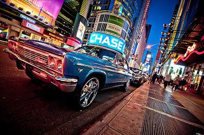 auto clásico en Nueva York