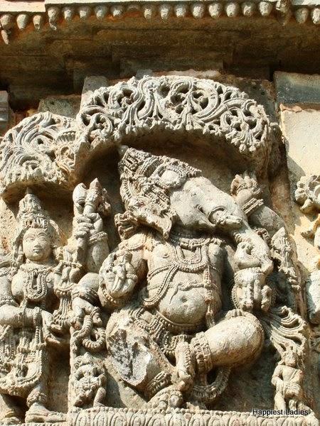 Ganesha Kedareswara temple Halebeedu