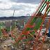 Boomerang do Six Flags St. Louis está quase concluída!