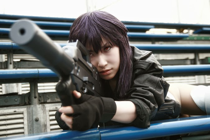 ghost in the shell film dal vivo - cosplay