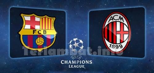 Barcelona VS AC Milan 2013