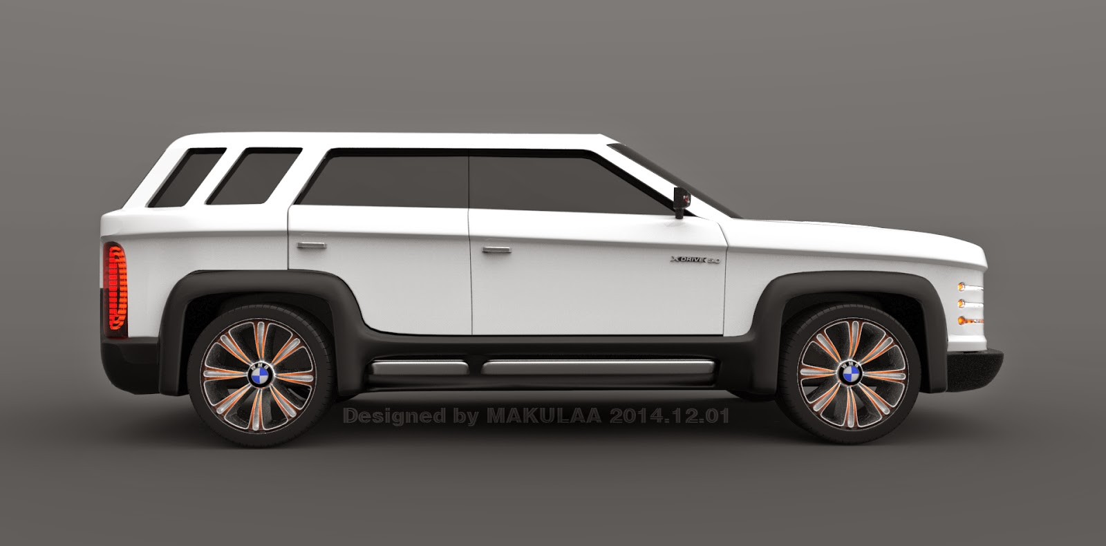 Car Design Creator By Makulaa Bmw X7 Concept 2017