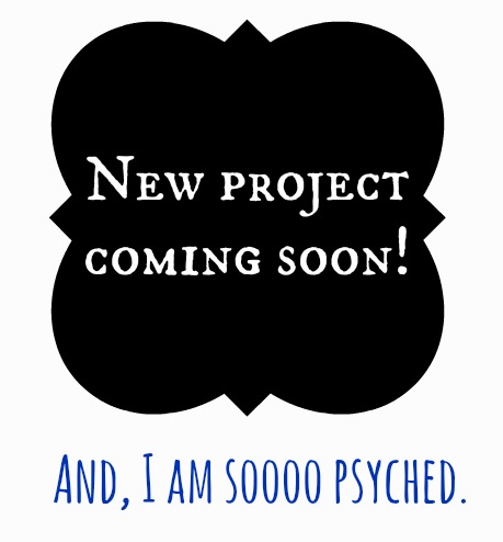 New project coming soon
