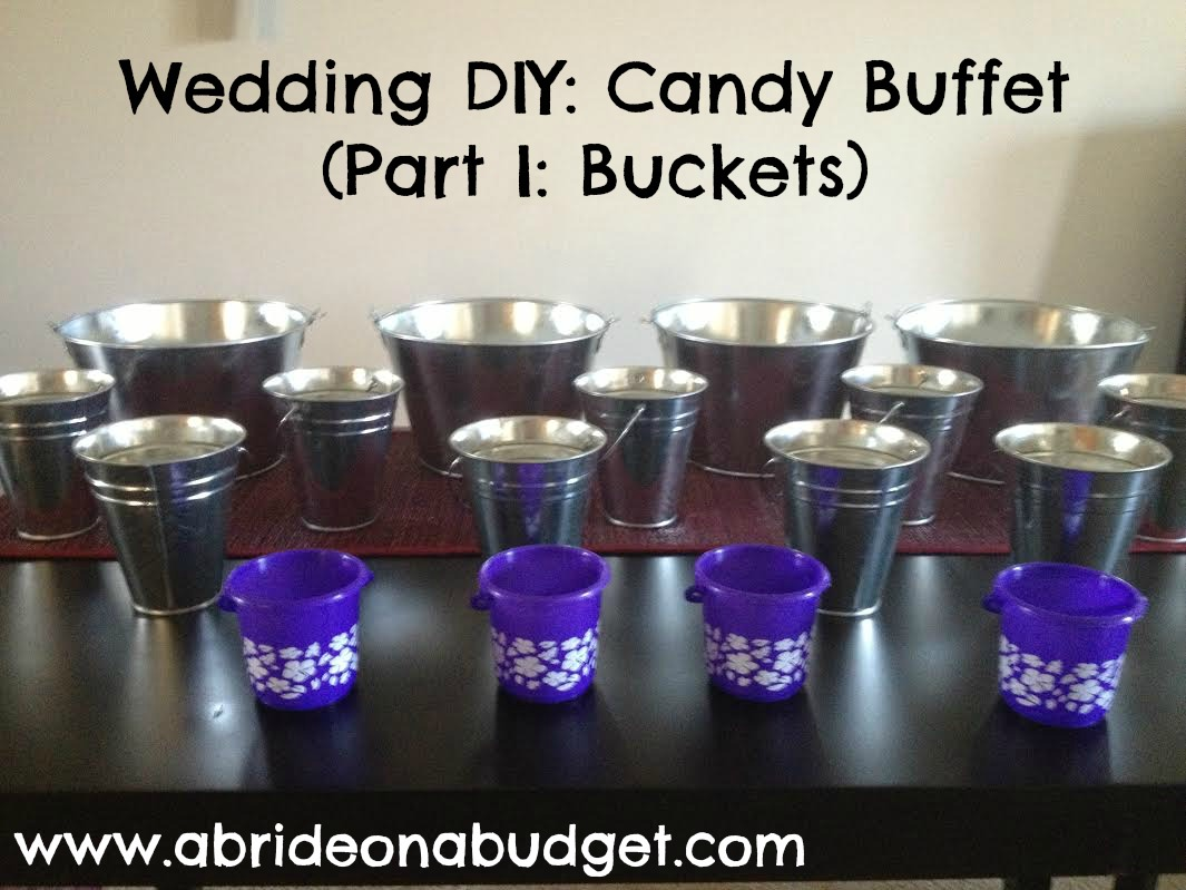 Sensational A Bride On A Budget Wedding Diy Candy Buffet Part I Beutiful Home Inspiration Papxelindsey Bellcom