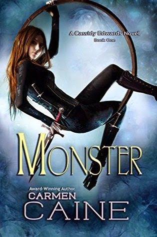 The qwillery december 2014 i was having a little trawl of my amazon recommendations when i came across monster by carmen caine which is the first in the cassidy edwards series fandeluxe Image collections