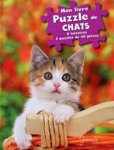 Mon livre puzzles chats
