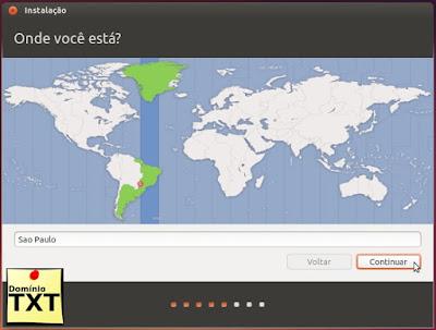 DominioTXT - Fuso Horário Ubuntu