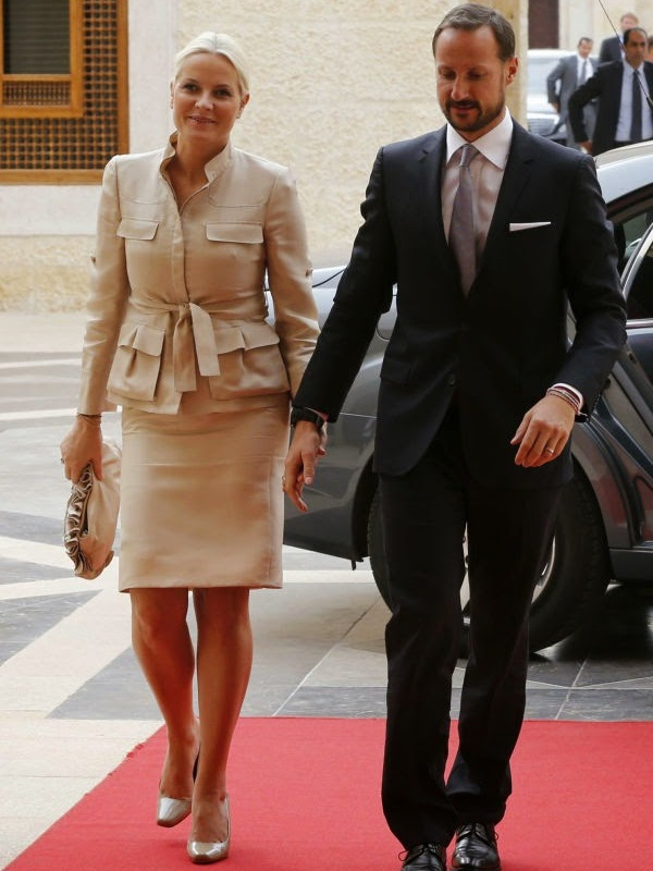 Crown Prince Haakon of Norway and Crown Princess Mette-Marit of Norway