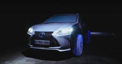 Η Lexus κατασκεύασε ρόδες από καθαρό πάγο