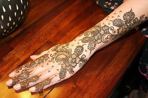 Mehndi Right Hand : Beautifull and latest mehndi design dresses for
