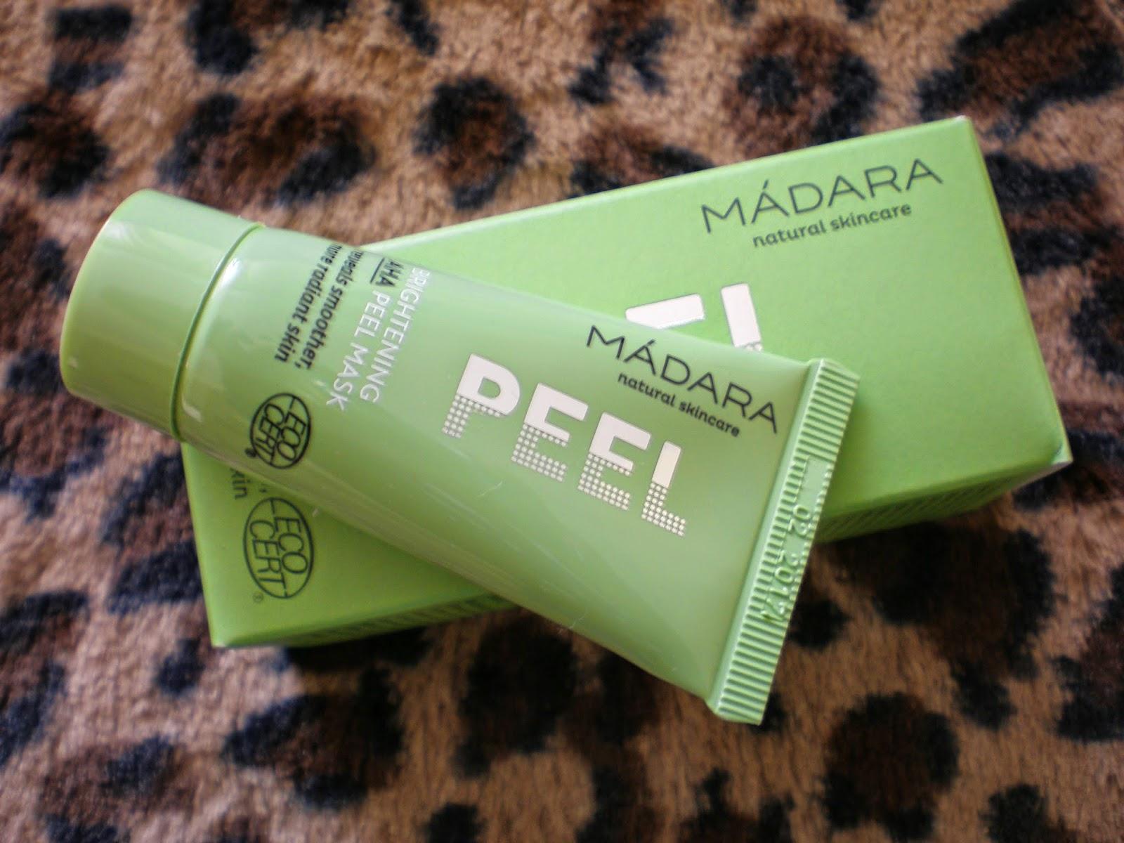 MADARA ORGANIC SKINCARE Brightening AHA Peel Mask
