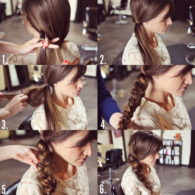 Coiffure sur cheveux long