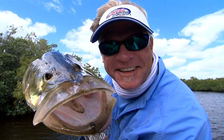 January Florida Everglades Cold Snook Fishing Report with Capt. Kevin Mihailoff