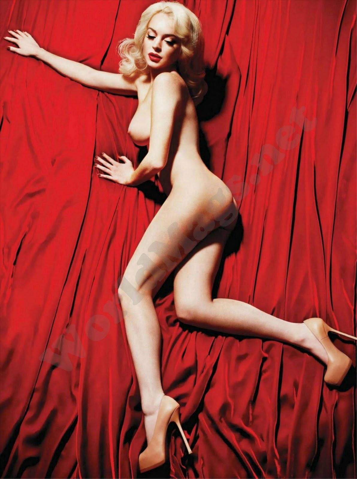 Lindsay Lohan Nude Pose 42