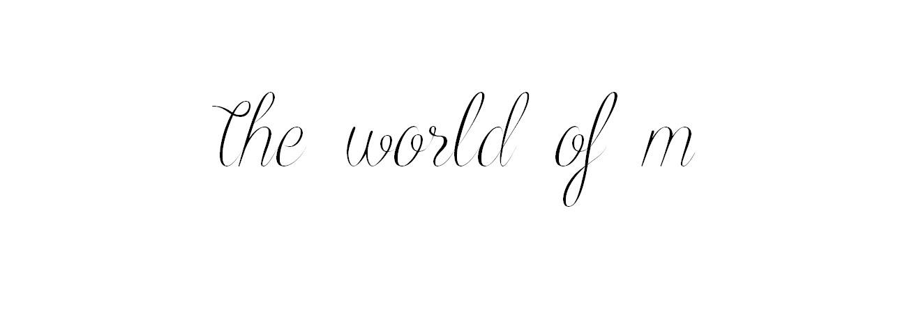 The World Of M l Por Minney Oliveira
