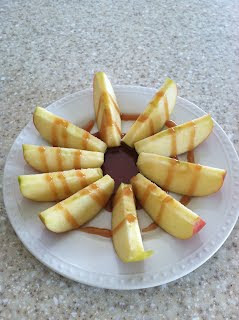 Produce Pantry: Salted Carmel Dip with Apple Slices