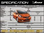 Fitur Spesifikasi Mobil All New Honda Jazz