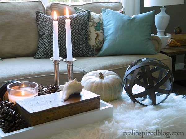 Fall Home Tour {2014} Coffee table