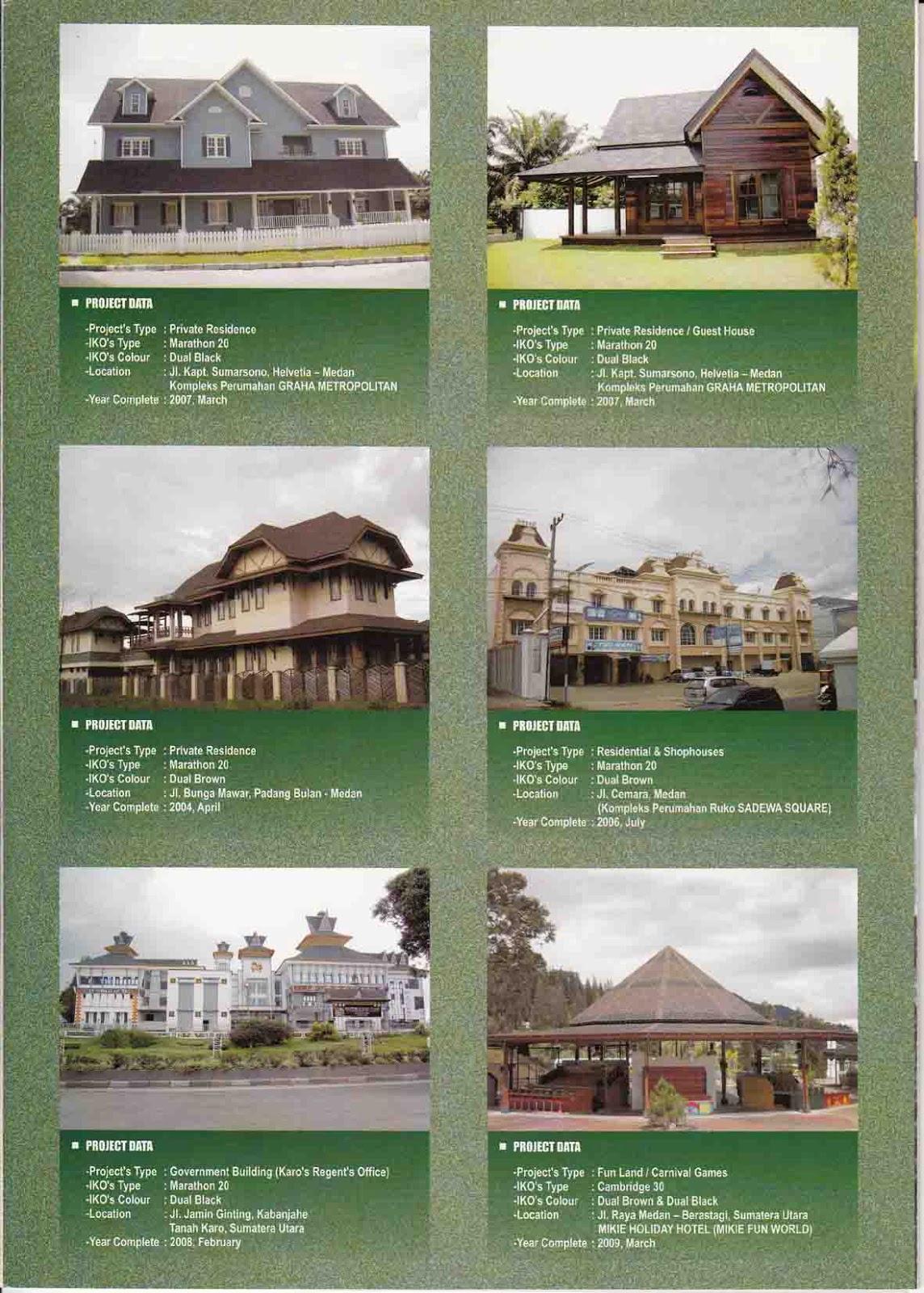 Genteng IKO - Premium Roofing Products