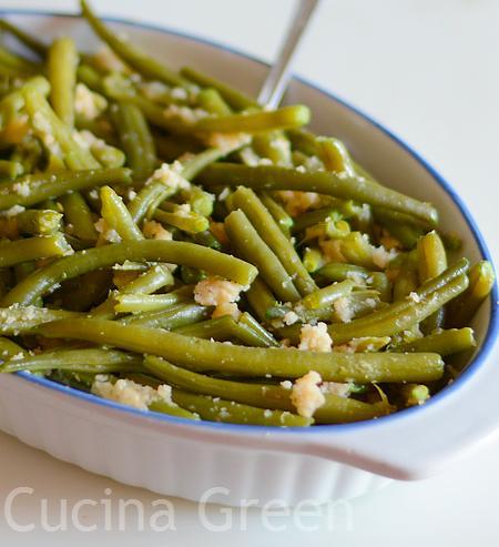 fagiolini ricetta veloce pangrattato