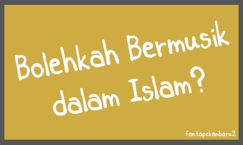 Hukum menyanyi dalam islam