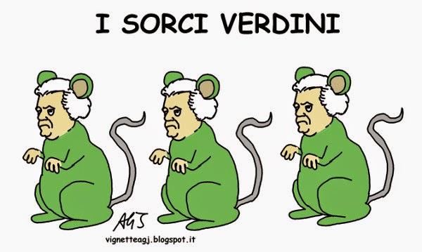 Brunetta, Renzi, Verdini, riforme, vignetta , satira