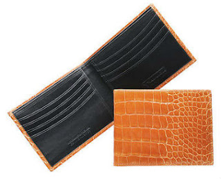 trafalgar alligator wallet