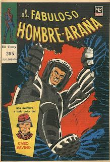 Fabuloso Hombre Araña, Suple El Tony Nº 205