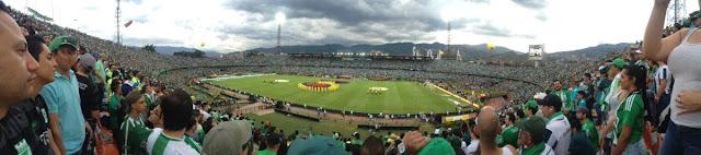 atletico nacional soccer match medellin colombia