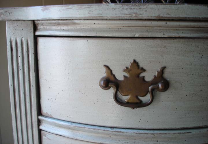 Painting Furniture To Reveal An Under Layer