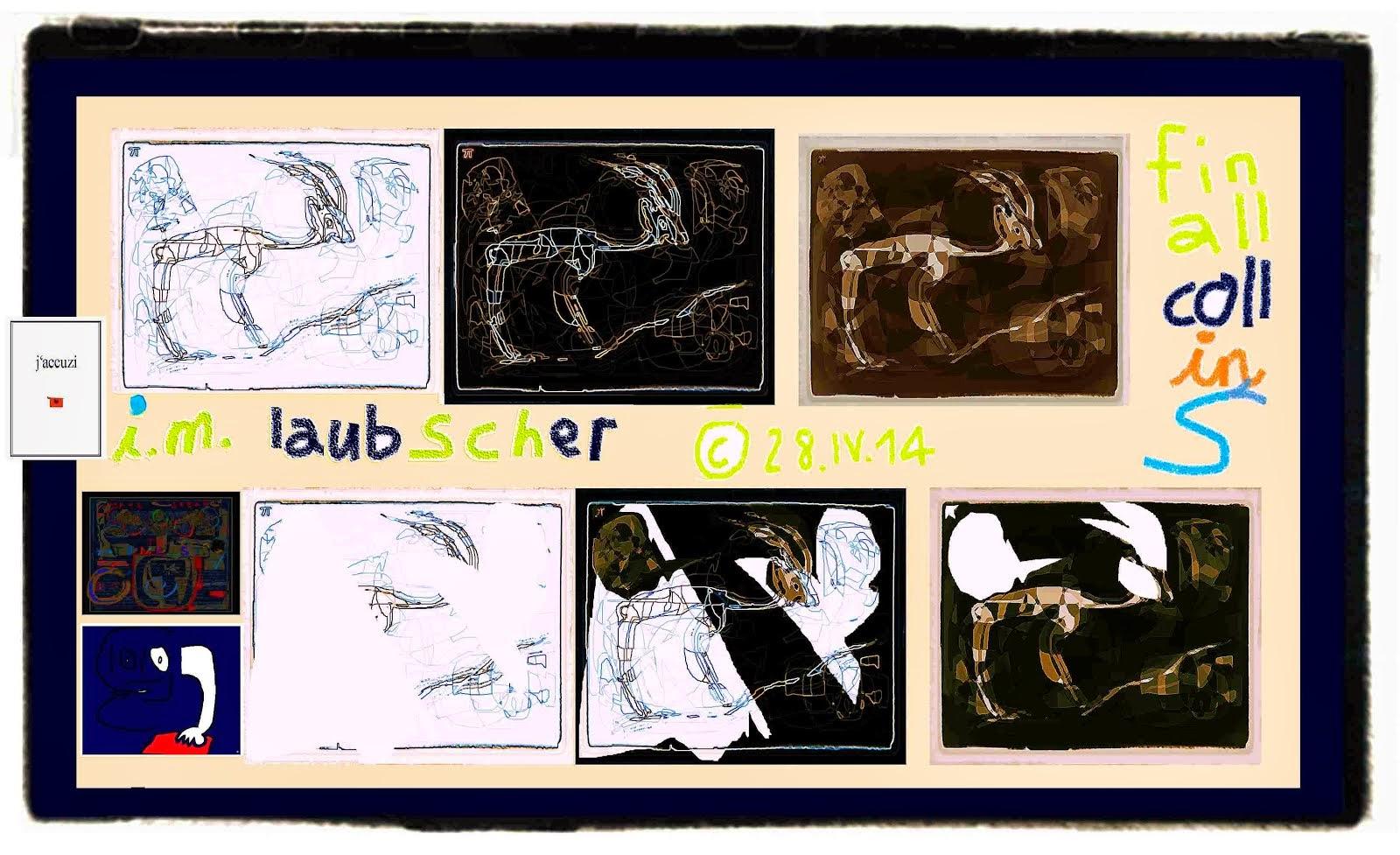 karl adolf laubscher - dichter - maler - naturschützer vivisektion - hommage mischa vetere gazelle