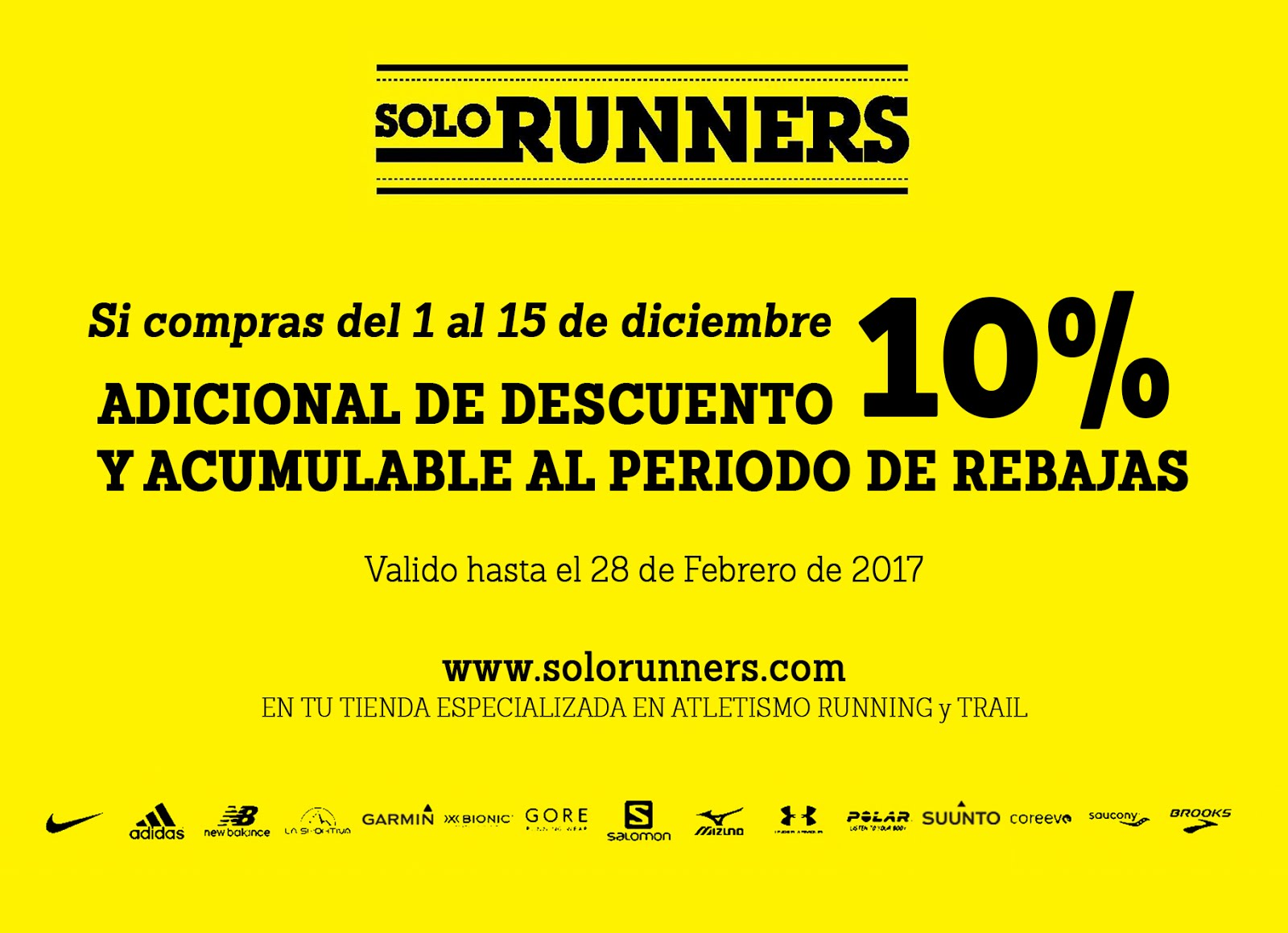 PROMO SOLORUNNERS