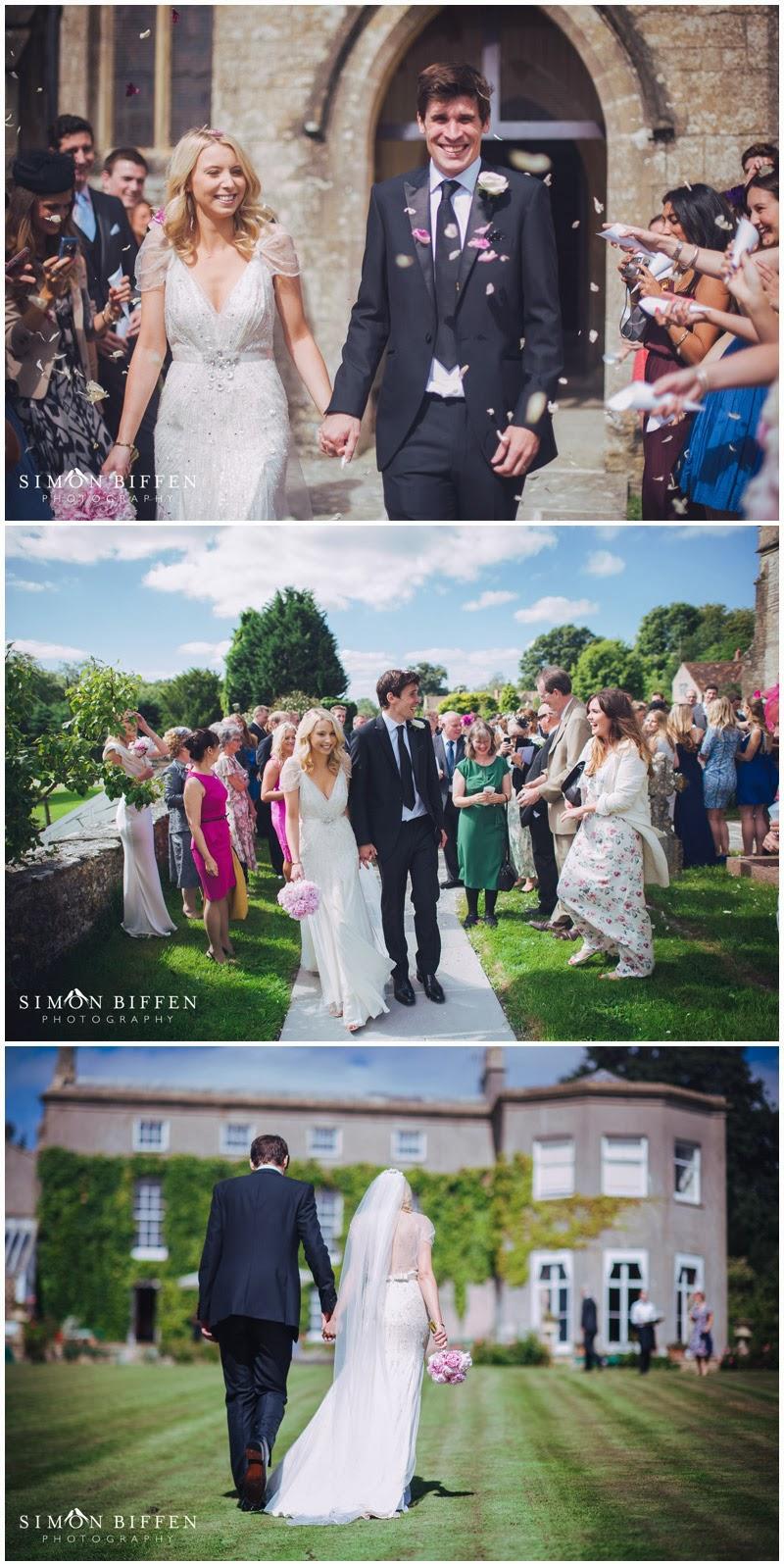 Pennard House wedding confetti