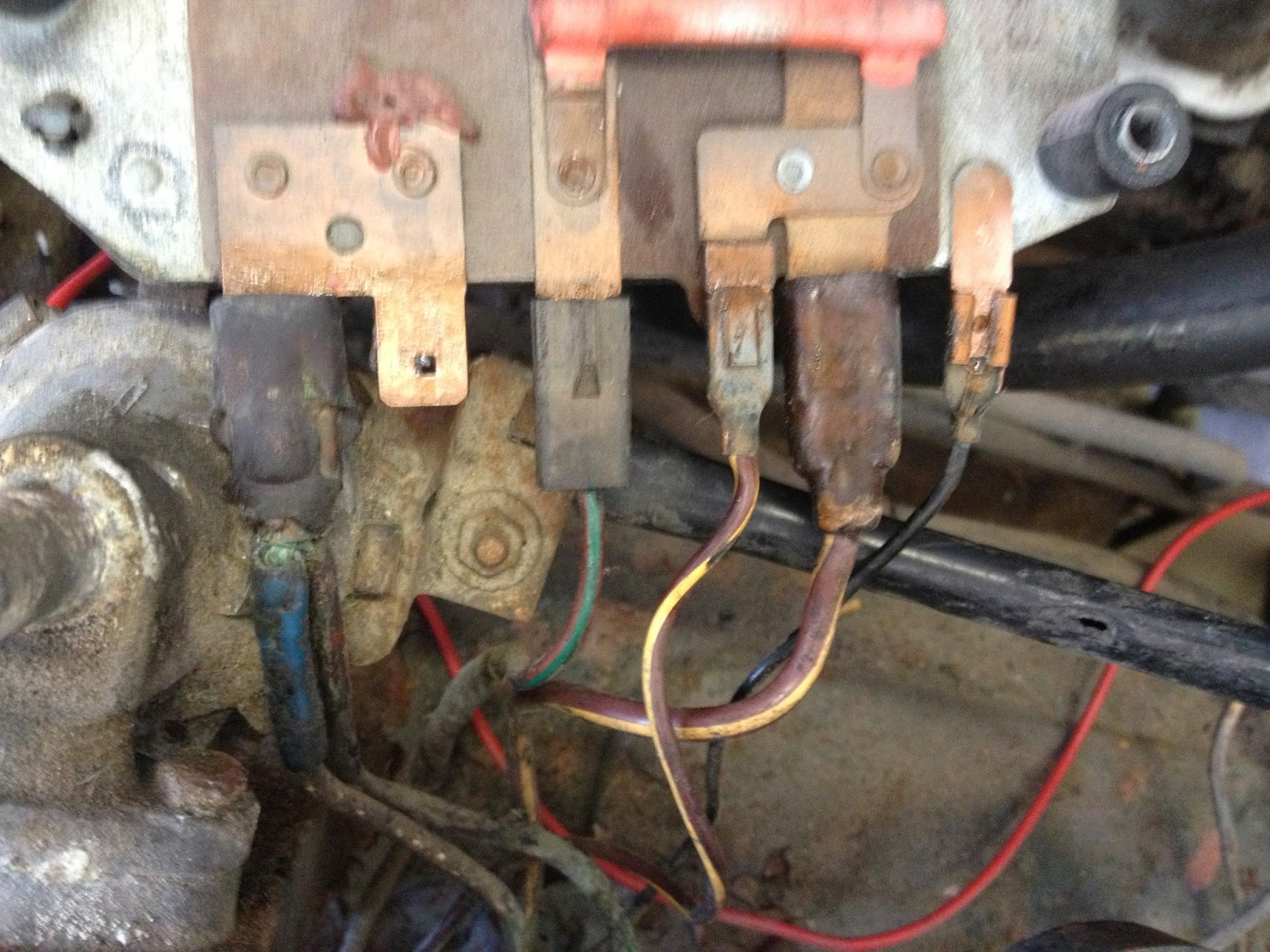 IMG_1726 1969 triumph spitfire mk3 project wiring woes here we go again