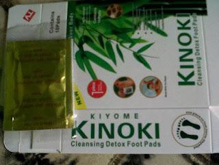 gambar foot patch detox kinoki koyo detok murah asli