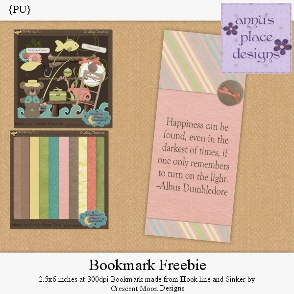 Freebie Bookmark