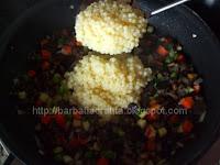 Cuscus cu legume Cous-cous preparare