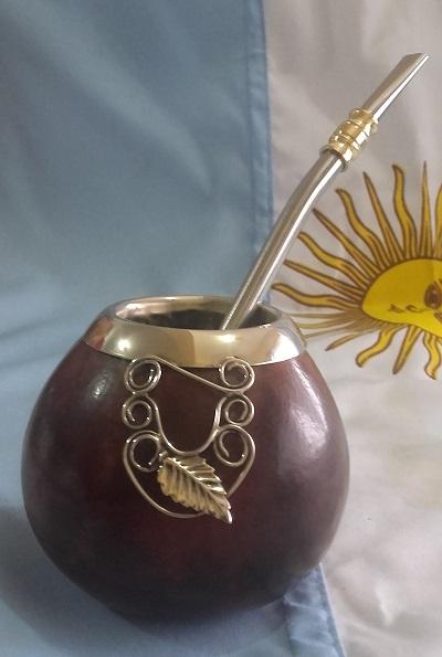 Mate Calabaza con diseño de alpaca S/ 60.00
