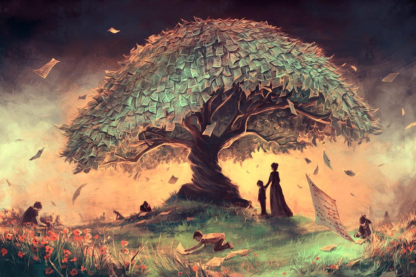 06-Follow-Our-Rules-Rolando-Cyril-aquasixio-Surreal-Fantasy-Otherworldly-Art-www-designstack-co