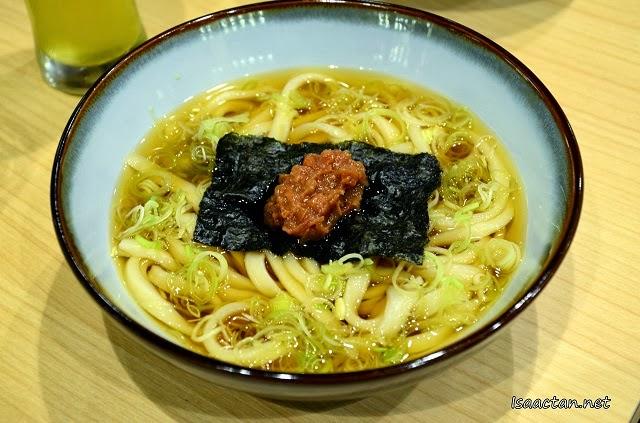 #6 Ume Udon – RM10.90 (S) RM12.90 (L)